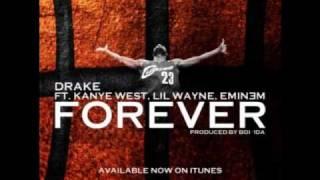 Forever (Clean/Lyrics) - Drake. Kanye West. Lil Wayne. Eminem.