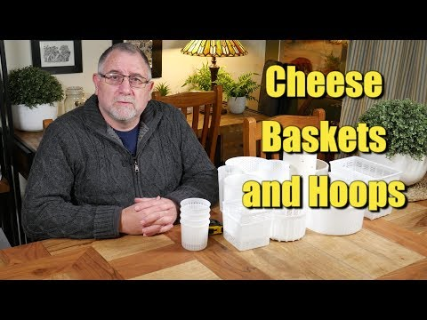 My Collection of Cheese Baskets and Hoops