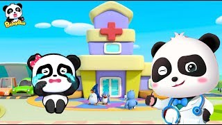 Doctor Panda Pretending Play | Top BabyBus Job Songs for Kids  | Kids Role Play | BabyBus