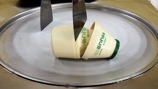 Banana milk limited edition Ice cream rolls