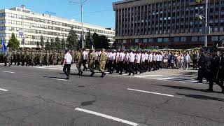 Парад Запорожье День независимости