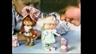 VINTAGE EARLY 80'S STRAWBERRY SHORTCAKE COMMERCIAL FEATURING ANGEL CAKE DOLL