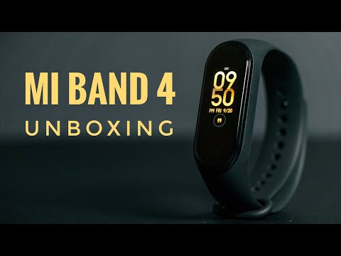 Mi Band 4 Unboxing & Impressions [Indian Retail Unit]