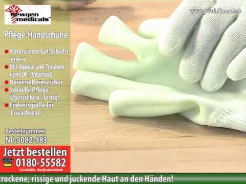 newgen medicals Pflege-Handschuhe mit Gel-Futter (Jojoba, Vitamin E)