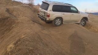 Lexus LX 470 vs Discovery 4 vs Bravada vs Delica. Диагоналки и песок