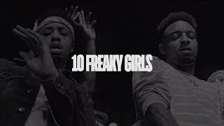 Metro Boomin   10 Freaky Girls Ft. 21 Savage (Lyrics)
