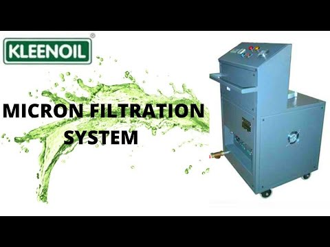 Dedicated Oil Filtration System