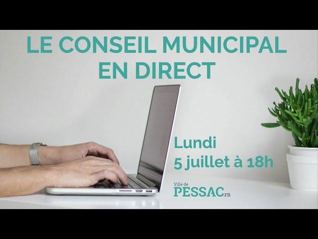 Conseil municipal du 5 juillet 2021