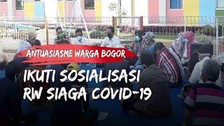Antusiasme 20 RW di Kota Bogor Ikuti Sosialisasi RW Siaga Covid-19, Ungkap Akses Warga Dibatasi