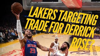 Lakers Now More Likely To Push For Derrick Rose Trade by Lakers Nation