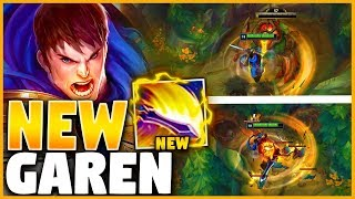 Riot made GAREN a JUNGLER... I tried it and got SIX ITEMS in 25 MINUTES 😲😲