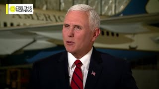 Full interview: Vice President Mike Pence on