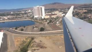 American Eagle (Skywest) CRJ-700 Landing at Reno Tahoe International Airport