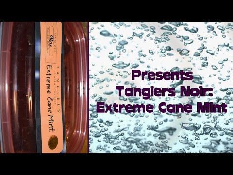 Shisha Tobacco Review: Tangiers Noir - Extreme Cane Mint