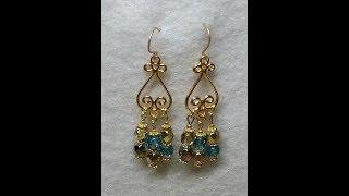 DIY~Make Simple, Gorgeous Chandelier Earrings!