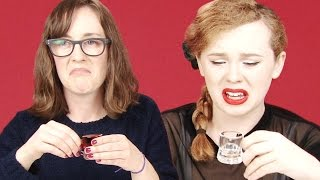 Irish People Try American Shots