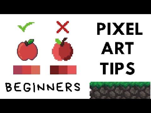 PIXEL ART Tips for NON-ARTIST Beginners