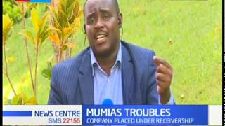 Kakamega County leaders up in arms after take over of Mumias Sugar Company by KCB