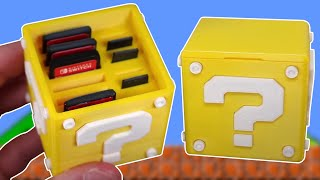 3D Printed Question Block Switch Cartridge Case