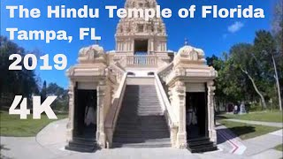 2019-The Hindu Temple of Florida, Tampa, FL in 4K (Ultra-HD)