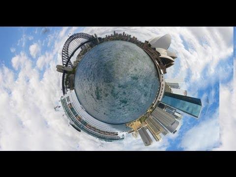 How to make circle photographs