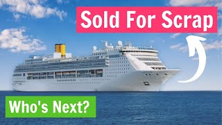 The Sold Cruise Ships Of 2020. Carnival, Royal Caribbean And More