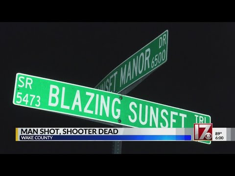 Woman dead, wounded man runs to neighbor after Wake County double shooting