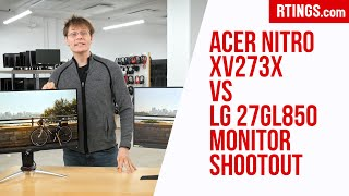 Video: Acer Nitro XV273X vs LG 27GL850 Monitor Shootout