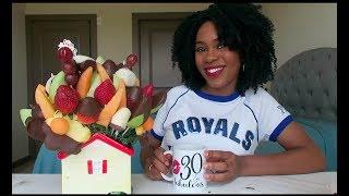 EDIBLE ARRANGEMENTS FRUIT MUKBANG (EATING SHOW)