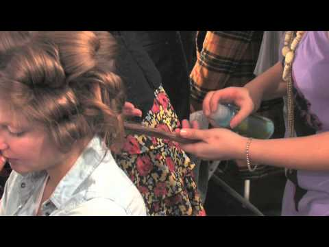 Cutler/Redken howto and Style, Tadashi New York Fashion Week Fall 2010