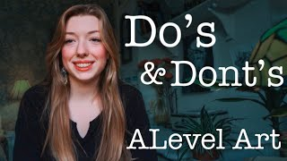 10 Dos & Donts In A-Level Art // Best Advice To Get An A*✨🌟
