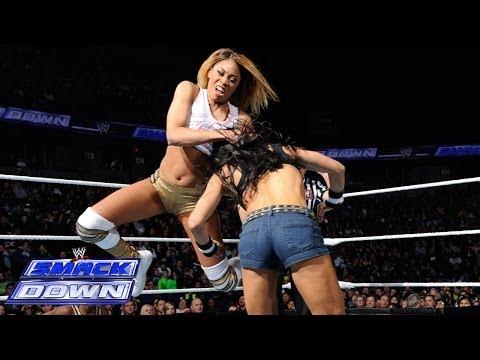 Cameron vs. AJ Lee: SmackDown, Jan. 24, 2014