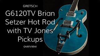 Gretsch G6120SH Brian Setzer Hot Rodwith TV Jones Pickups  •  Wildwood Guitars Overview