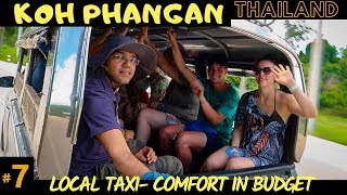 Koh Phangan Day Tour: Getting around | Local Taxi | Must visit places for family