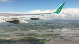 Shannon Airport Aer Lingus 757-200 Departure  For JFK NEW YORK.