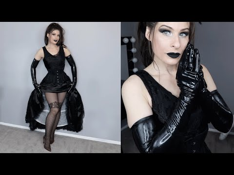 Gothic Cinderella Cosplay Try On ❤️