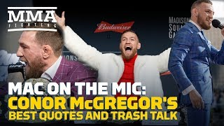 Conor McGregor's Best Quotes and Trash Talk - MMA Fighting