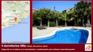 preview picture of video '4 dormitorios Villa se Vende en Palleja, Barcelona, Spain'