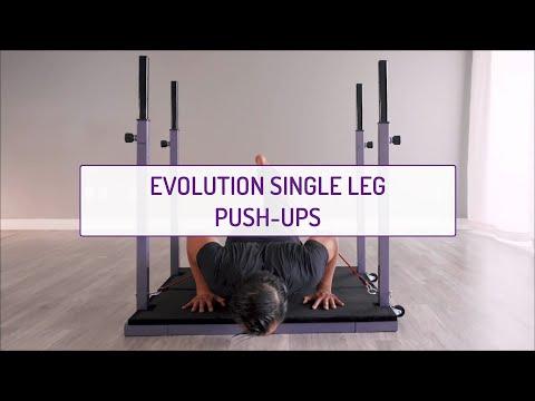Evolution Single Leg Push-Ups