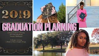Graduation Planning VLOG | DIY Cap, Photoshoot, & Affordable Invitations