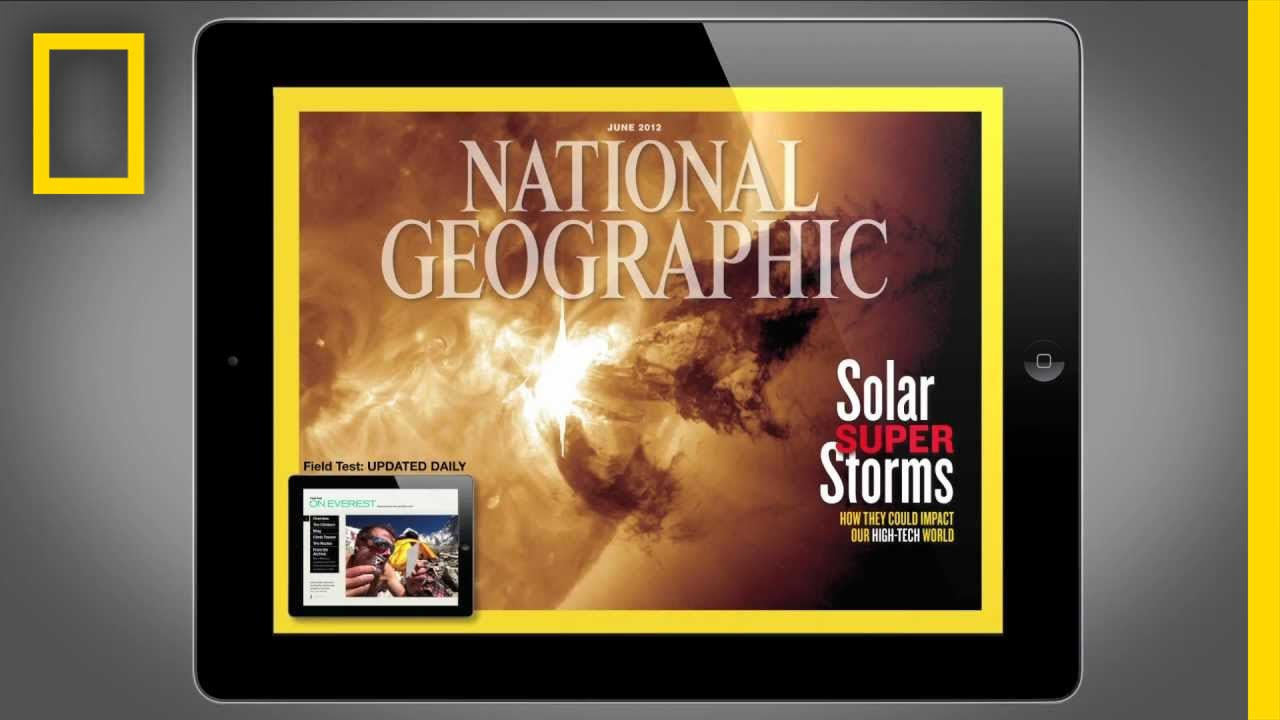 National Geographic Magazine on iPad- June 2012 Edition | National Geographic thumbnail