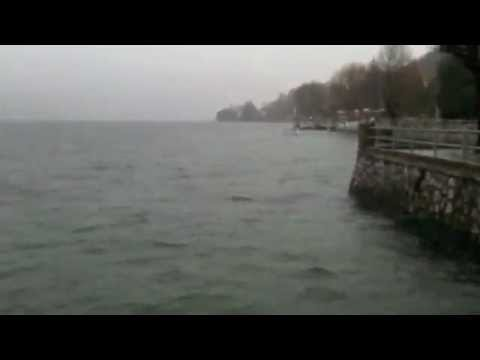Maltempo sul lago