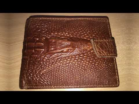 This Wallet Is Made With Real Dragon Skin