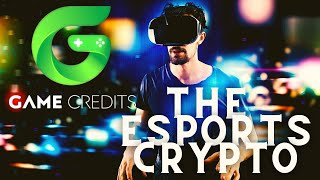 Can #Gamecredits Be The Crypto for #Esports