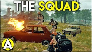 THE SQUAD - PLAYERUNKNOWN