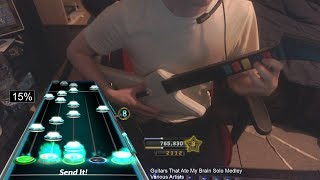 Guitars That Ate My Brain Solo Medley First Ever 100% FC!!