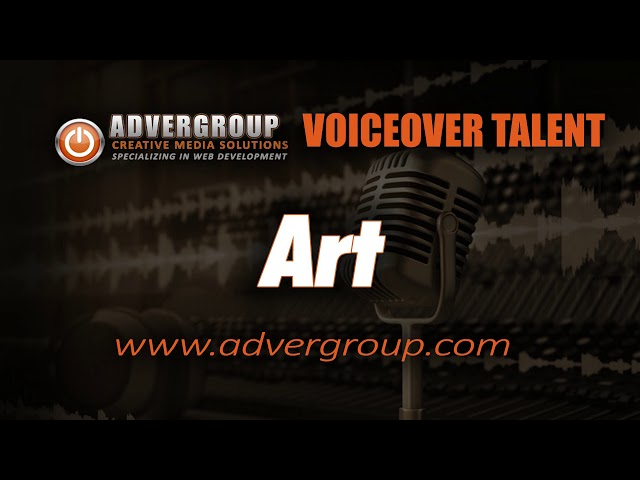 ART Male VOICEOVER T ..