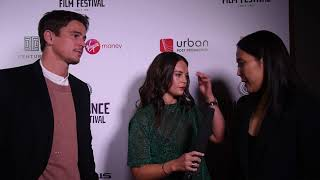 Josh Hartnett & Atsuko Hirayanagi Interview | Raindance 25 Opening Night Red Carpet