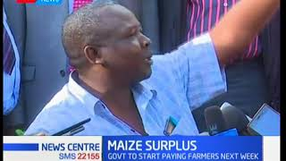 KTN News Centre - 8th March 2018: Too much of maize supply even as part of the country go hungry