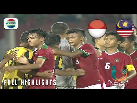 Indonesia (1) vs (0) Malaysia - Full Highlights | AFF U-16 Championship 2018